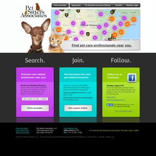 Directory of US Pet Care Businesses - Pet Business Insurance
