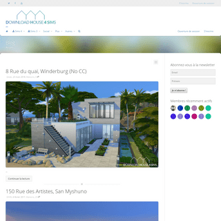 DH4S - Download house 4 sims