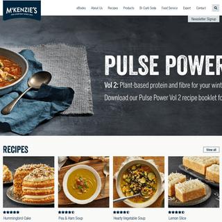Home - McKenzie's Foods