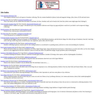 Site Index of myinsulators.com