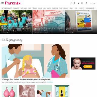 Parents - Pregnancy, Birth, Babies, Parenting