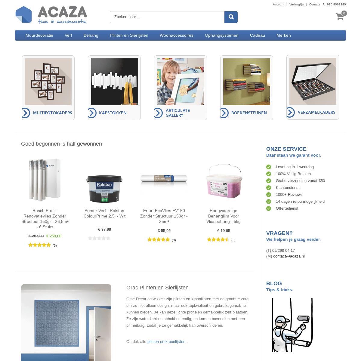 ArchiveBay.com - acaza.nl - Acaza.nl - Thuis in wanddecoratie - Fotolijsten en meer