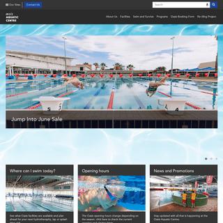 Oasis Home - Oasis Aquatic Centre