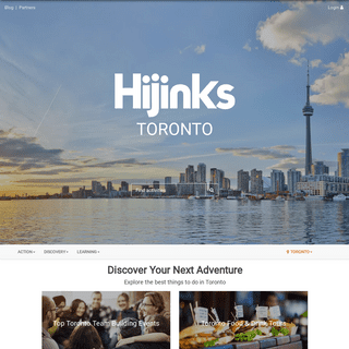 Hijinks - Discover Life Experiences & Local Activities
