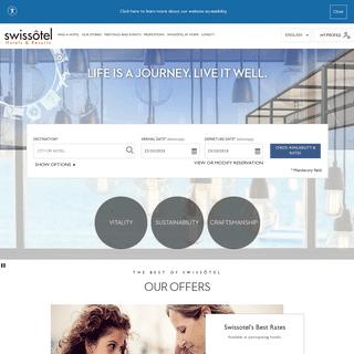 Luxury Hotels & Resorts - Swissôtel Hotels & Resorts