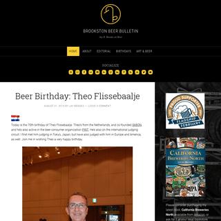 Brookston Beer Bulletin - Jay R. Brooks on Beer