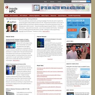 ArchiveBay.com - insidehpc.com - insideHPC - HPC News Without the Noise for Supercomputing Professionals -- insideHPC.com
