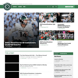The Only Colors, a Michigan State Spartans community