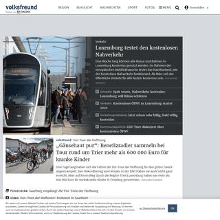 Nachrichten für Trier, Eifel, Mosel & Luxemburg