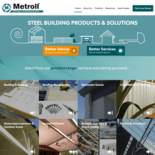 Home - Metroll Steel Building Products & Solutions