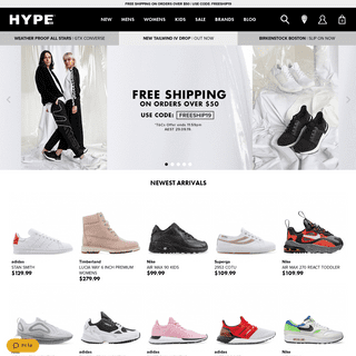 ArchiveBay.com - hypedc.com - Men's, Women's and Kids Shoes and Sneakers - Hype DC