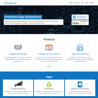 Aroliant - A.I. with limits. A Software Company, creating apps, games ,tools and more...
