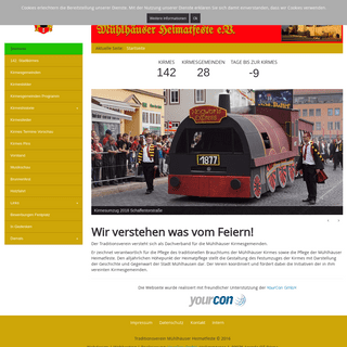 Traditionsverein Mühlhäuser Heimatfeste e.V. - Startseite