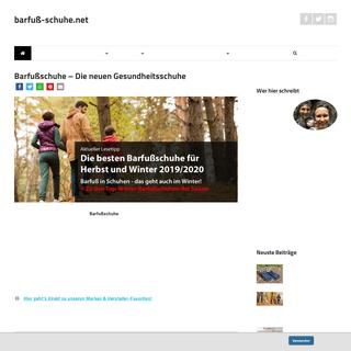 ᐅ Barfußschuhe erleben - mit barfuss-schuhe.net - Das Ratgeberportal