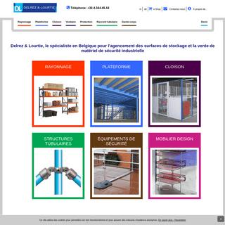 Constructions métalliques pour l'industrie - Delrez Lourtie