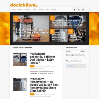 Blog dociekliwa.pl - Testy AGD. Porównuję, testuję sprzęt