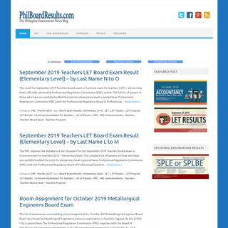 ArchiveBay.com - philboardresults.com - PhilBoardResults - The Philippine Examination News Blog