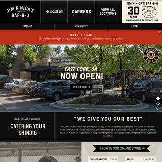 Jim 'N Nick's BBQ Restaurant - World Class Bar-B-Q