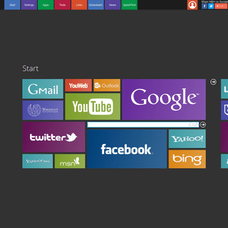 MyBrowserHome - Your Homepage
