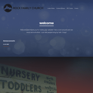 Rock Family Church – Love God, Love People, Serve The World