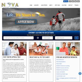 ArchiveBay.com - novahomeloans.com - Mortgage Home Loan Company in AZ, CA CO & NV - NOVA® Home Loans