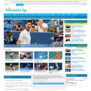 ArchiveBay.com - tennis24.bg - Tennis24.bg, Българският тенис портал