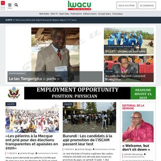 ArchiveBay.com - iwacu-burundi.org - IWACU – Les voix du Burundi