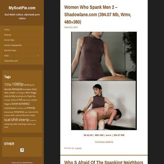 MyScatPie.com – Scat fetish videos, clips4sale porn videos