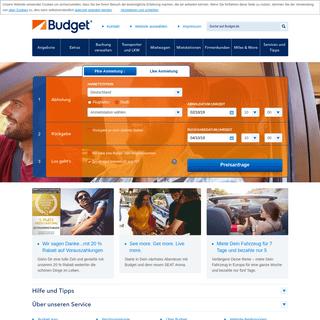 Home - Budget Autovermietung