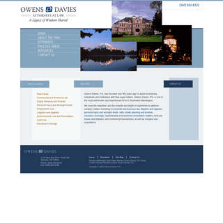 Olympia Washington Real Estate Attorney - Olympia Business Lawyer - Olympia Litigation Lawyer