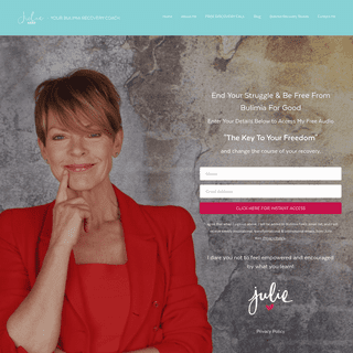 Bulimia Recovery With Julie Kerr - Your Bulimia Free Life