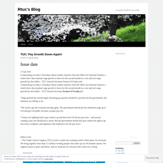 Rtuc's Blog - Just another WordPress.com weblog