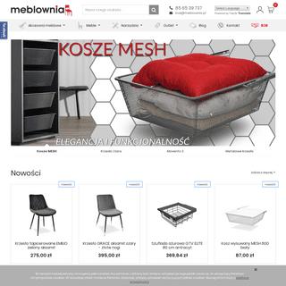 Meble i akcesoria meblowe Białystok - Sklep meblownia.pl