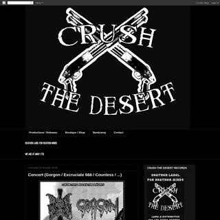 Crush The Desert