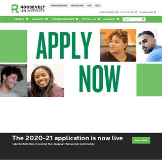Chicago, Schaumburg and Online - Roosevelt University