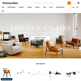 ArchiveBay.com - franceandson.com - France and Son Furniture, Lighting, and Home Decor — France & Son