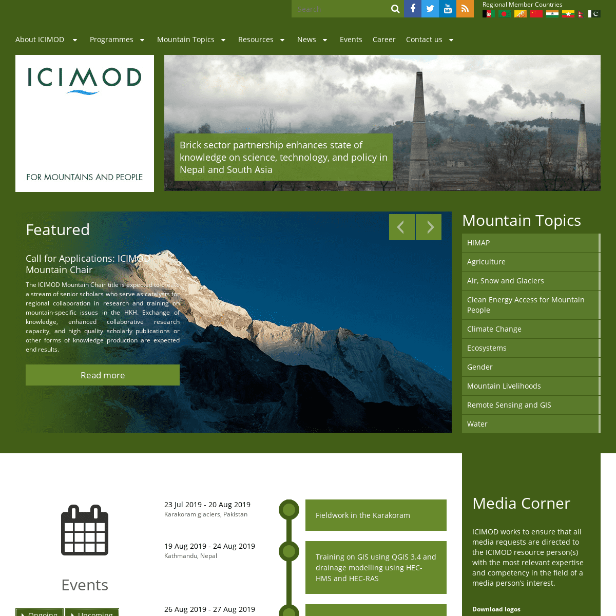 ArchiveBay.com - icimod.org - International Centre for Integrated Mountain Development (ICIMOD)