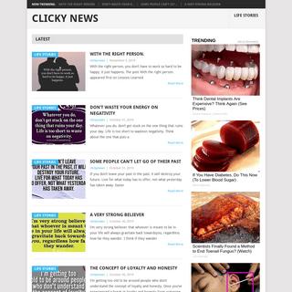 Clicky News -