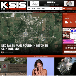KSIS Radio 1050 AM - Sedalia's News Leader