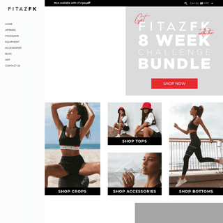 FitazFK - Fitness & Nutrition Guides - Activewear - Equipment - App