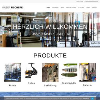 ArchiveBay.com - kaiser-fischerei.ch - Fischereiartikel Kaiser- Fischereibedarf, Ruten & Zubehör in der Schweiz