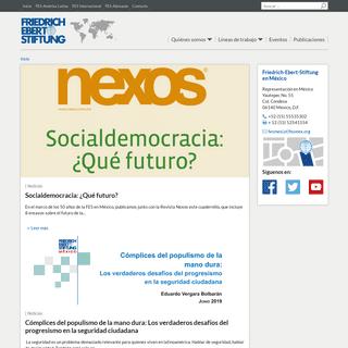 Inicio - Friedrich-Ebert-Stiftung en México