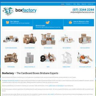 ArchiveBay.com - boxfactory.com.au - Packing & Cardboard Boxes Brisbane - Box Factory