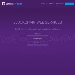ArchiveBay.com - blockcypher.com - BlockCypher - Bitcoin and Blockchain Web Services