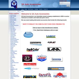 Welcome to SA Auto Accessories - SA Auto Accessories