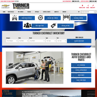 Crosby, TX Chevy Dealer by Baytown & Humble- Turner Chevrolet
