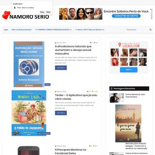 Namoro Sério - Sites de Relacionamentos - namoroserio.com