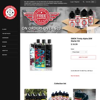 ArchiveBay.com - yougotejuice.com - You Got E-Juice - Making Vaping Affordable For Everyone. – yougotejuice.com