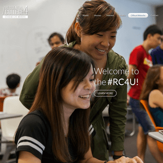 Residential College 4 - Student Life Website