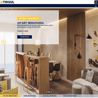 Trisul Construtora em São Paulo - SP - Apartamentos Novos à Venda